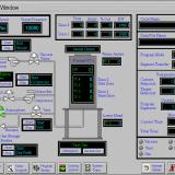 Prasy izostatyczne panel kontrolny
