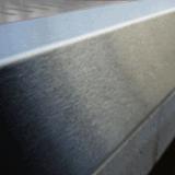 Piec hartowniczy - stal nierdzewna zastosowana na około otworu wlotowego