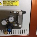 Piec do hartowania dwoje drzwi - podawanie gazów obojętnych