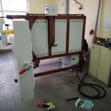 Piec do hartowania dwoje drzwi - komora 340 litrów
