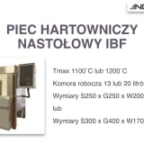 INDUSTRY 2.0 - informacje techniczne piece IBF.001
