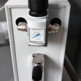 Piece muflowe laboratoryjne - system podawania gazu obojętnego