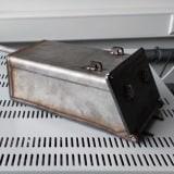 Piece muflowe laboratoryjne - skrzynka gazowa z dozownikiem gazu obojętnego