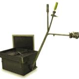 Skrzynia do obróbki cieplnej w gazie obojętnym oraz przyłączem próżniowym