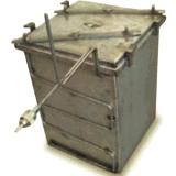 Skrzynia szczelna z do obróbki w gazie obojętnym