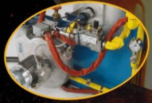 Półautomatyczny palnik gazowy
