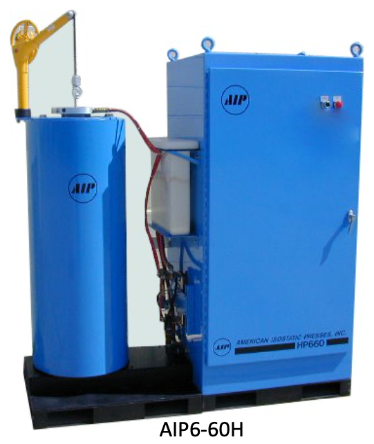 Hot Isostatic Press AIP6 laboratory purposes